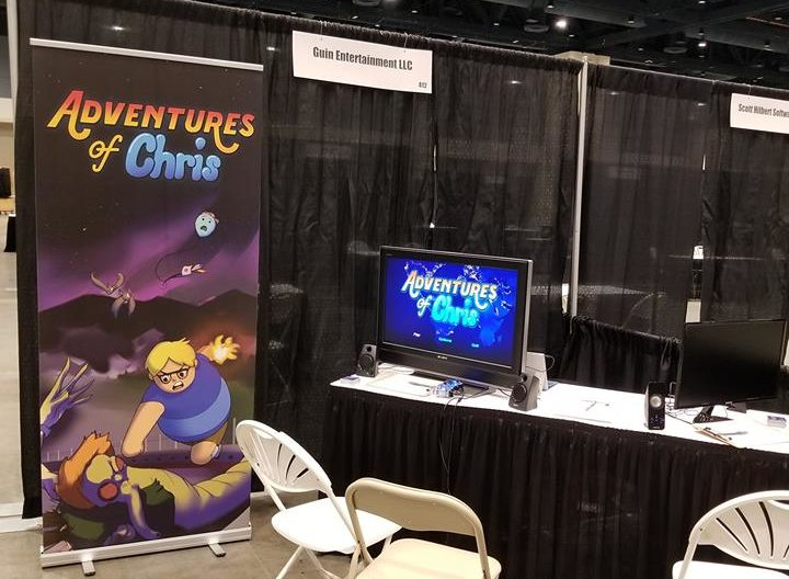 Adventures of Chris Booth at Playthrough GC in Raleigh